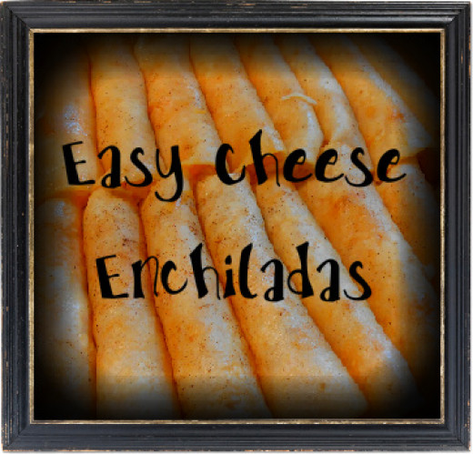 Easy recipes for cheese enchiladas