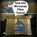 Geek Crafts: Science Pillow Sewing Project