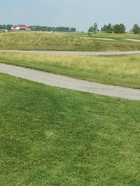 A look at some of the scenery at King's Walk Golf Course in Grand Forks, North Dakota.