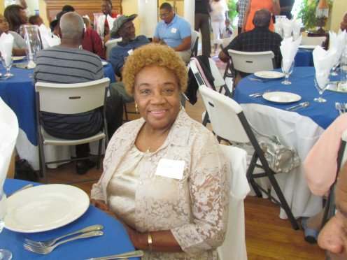 My sister Deloris, was happy to be with family members as well for this event.