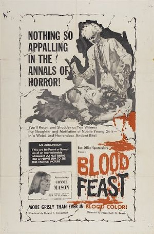 """Blood Feast"" poster"