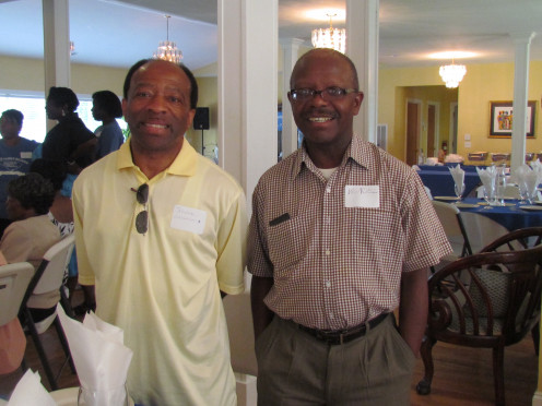 My brother Wendell, is twin to Wardell. He is present with our nephew Jerome.