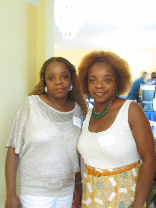 My twin sister Paulette and I, really enjoyed this entire family reunion weekend.