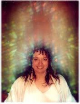 The flashes of light within the aura must have some meaning.  Wonder what it is?