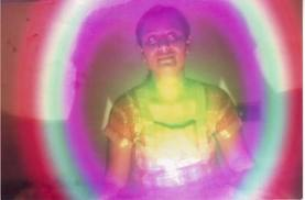 Here is a Kirlian photo of an Swami.   When the mind is absolutely still, so is the aura