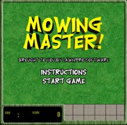 Free Lawn Mowing Games