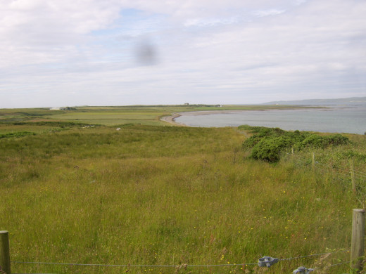 Looking south-west on to Loch Indaal from near Bowmore