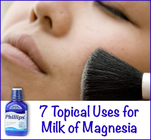 Milk of Magnesia as Deodorant and Other Topical Uses