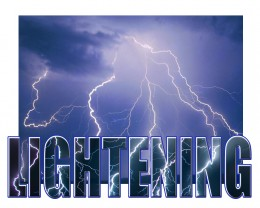 Lightening storms are becoming more and more common world wide as extreme weather increases.