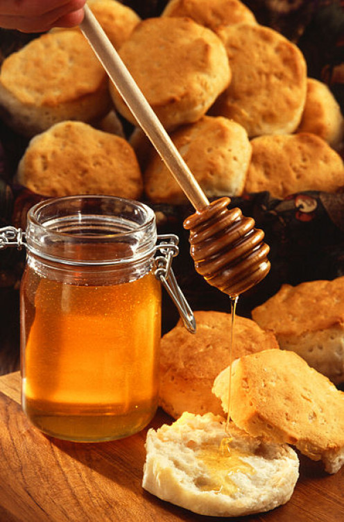 Honey is a good substitute for granulated sugar