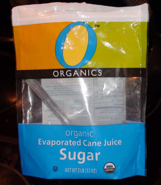 There are many brands and types of organic sugar. Use evaporated cane juice for the easiest substitute.