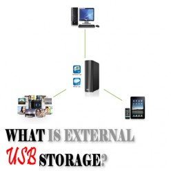 What is External USB Storage?