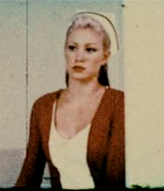 Lisa Garland from a 'flashback' scene in the movie.