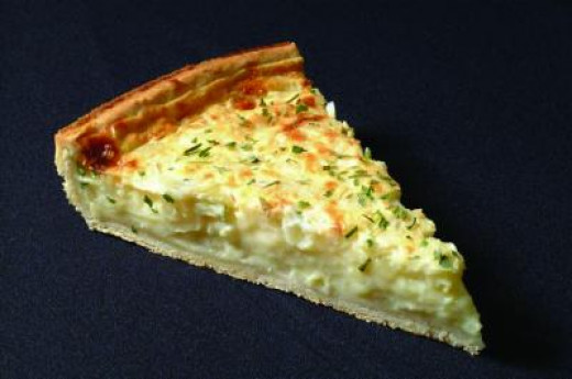 Onion quiche Recipe