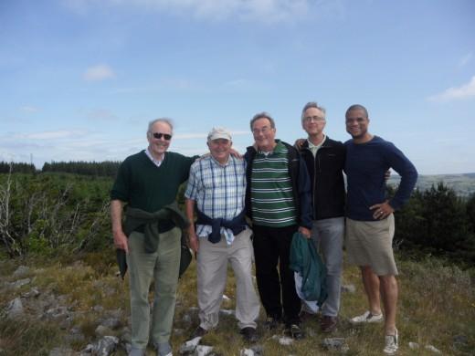 On Mulleyash, Jonny, Gordon, Richard, Jean-Louis, Robert