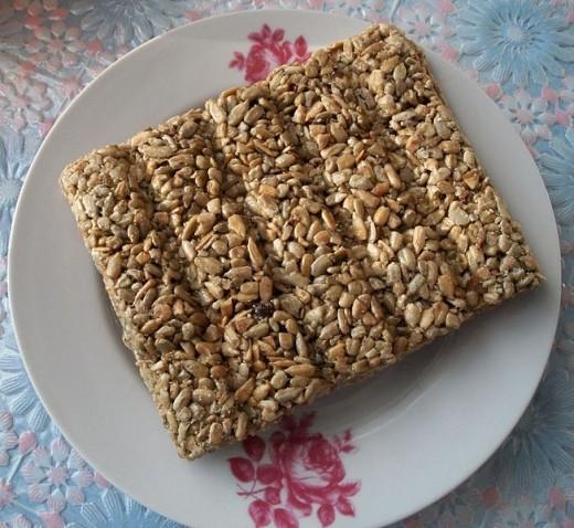 Gozinaki from Sunflower seeds