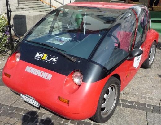 Veículos elétricos modernos são compacto, leve e muito eficiente