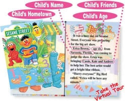 What are personalized children's books