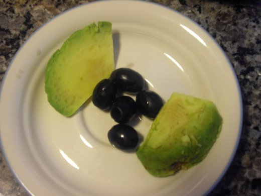 Avocados have healthy fats in them