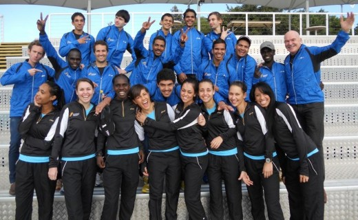 2011 Indigenous Marathon Project team