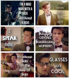 Top Eleven 11th Doctor Quotes