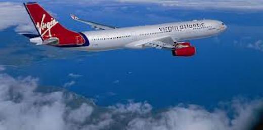 Virgin Atlantic soars through the air