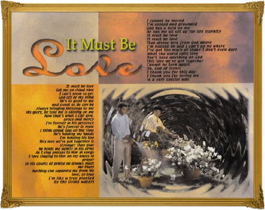 One of my poems in a frame for resale