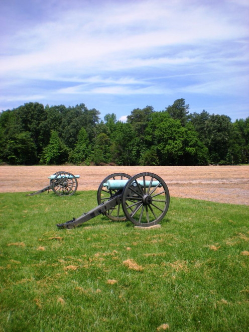 Richmond National Battlefield Park, Malvern Cannons