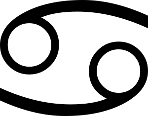 Cancer's glyph