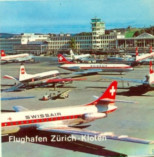Flughafen Zurich-Kloten