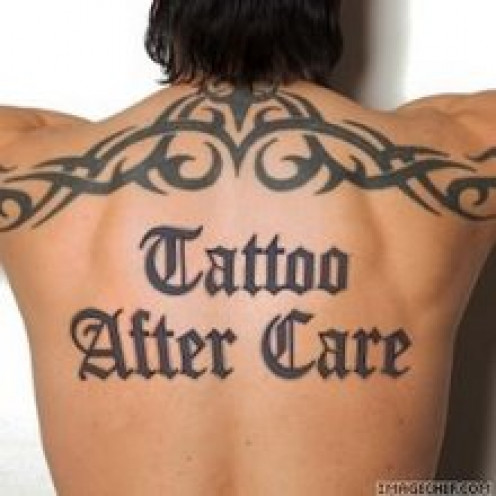Tattoo After Care
