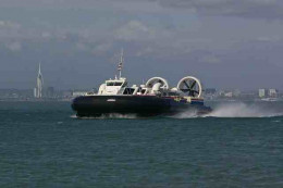 Hovercraft from Portsmouth to Rhyde.