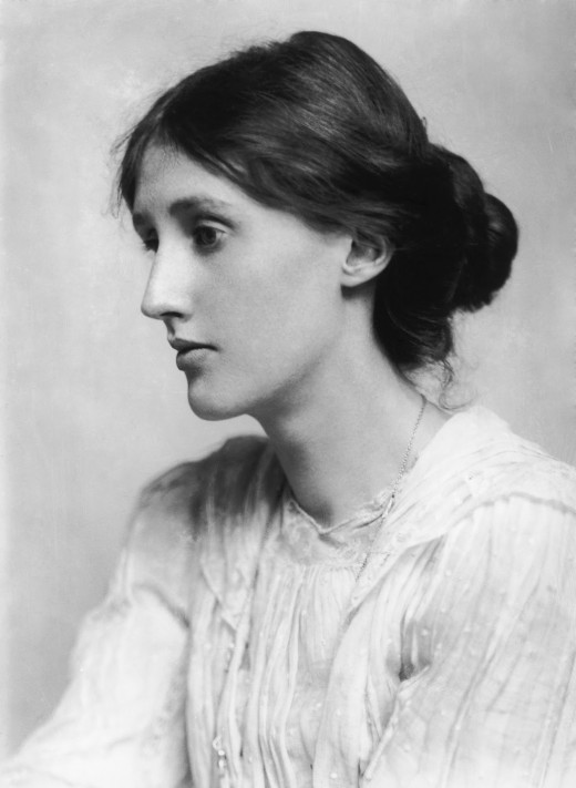 "Virginia Woolf wrote ""A Room of One's Own,"" an excellent starting point for analyzing literature from a feminist perspective."