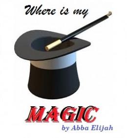 Where is my Magic,a poem by Abba Elijah also known as elijagod (elija_god)