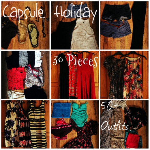 Presenting your capsule holiday wardrobe