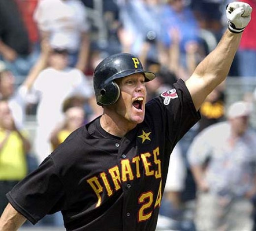Giles #24 Pirate statistics: .308, 165 HR, 506 RBI in 5 seasons