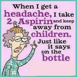 When I get a headache