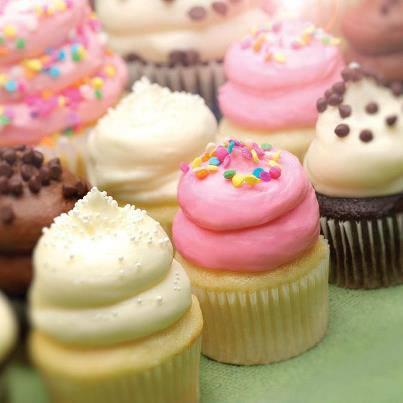 Gigi's mini cupcakes.