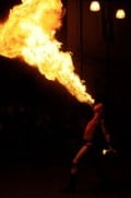 Fire eater.