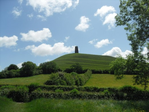 Glastonbury Tor...once a capital tower of Avalon.