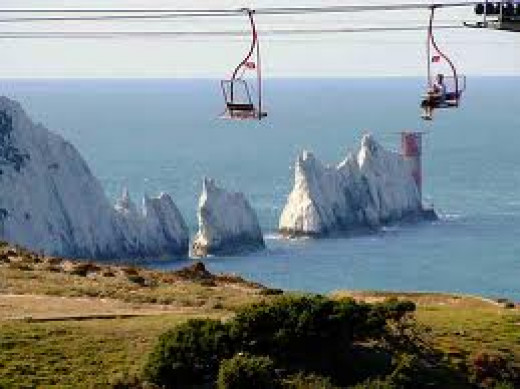isle of wight needles chairlift