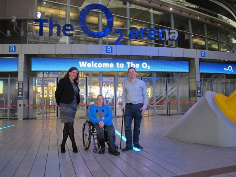 Disabled Access-O2 Arena