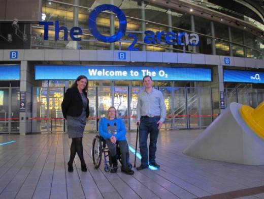 Disabled Access-O2 Arena