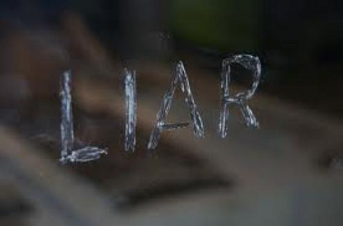 Cheaters often  tell  lies