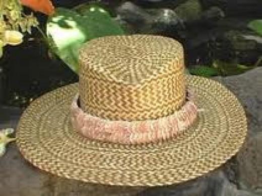 Lauhala hat