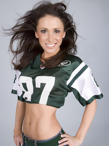 Jenn Sterger doing what she does best - Posing!