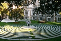 Labyrinth at Boston University