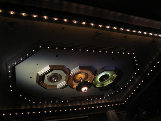 Theater overhead by BWChicago on Flickr