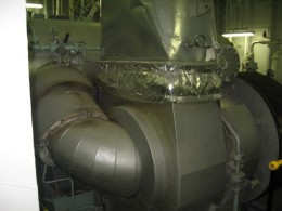 Exhaust Gas Boilers Produces Steam by Absorbing Heat from Main Engine Exhaust Gas