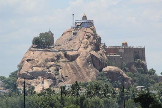 Rock Fort, The Landmark of Trichy